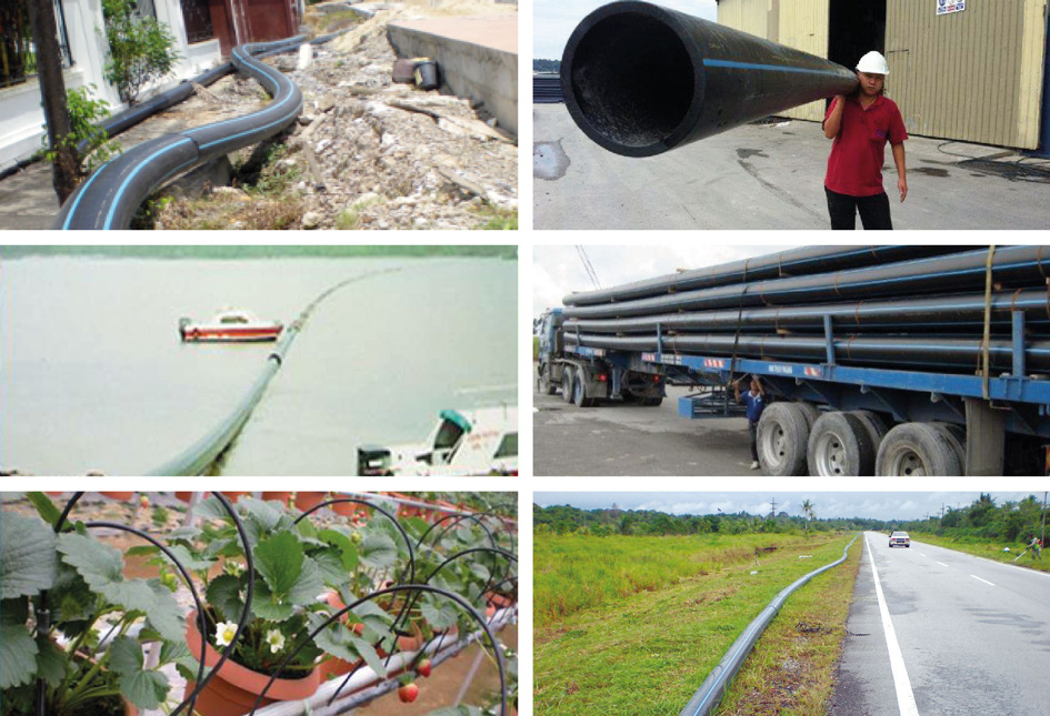 HDPE Water Pipes – WEIDASAR